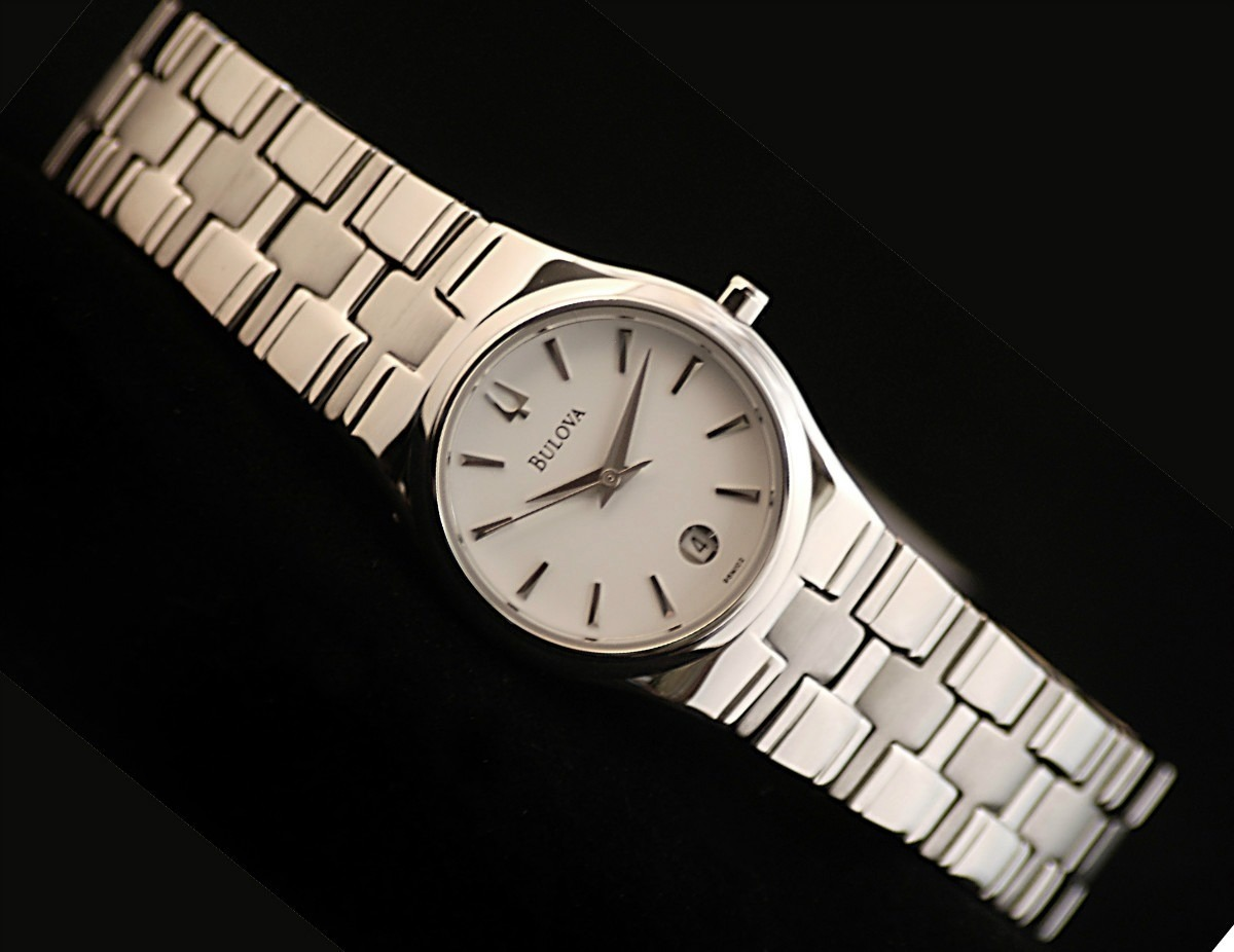 Reloj bulova original para hombres 96b106 u s 260 00 en - Reloj pared original ...