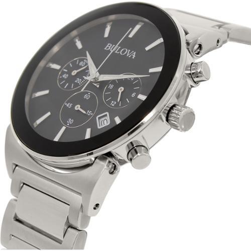 11c4a710e7df Reloj Bulova Para Hombre 96b203 Clásico Plata Acero -   1.184.550 en Mercado  Libre