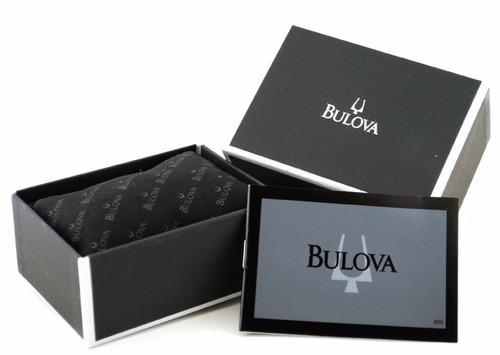 reloj bulova precisionist longwood mujer blanco 96p115