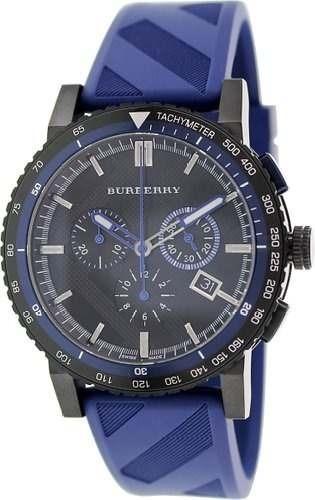 reloj burberry azul