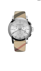 Reloj Burberry Bu9357 Para Hombre Correa Nova De Piel