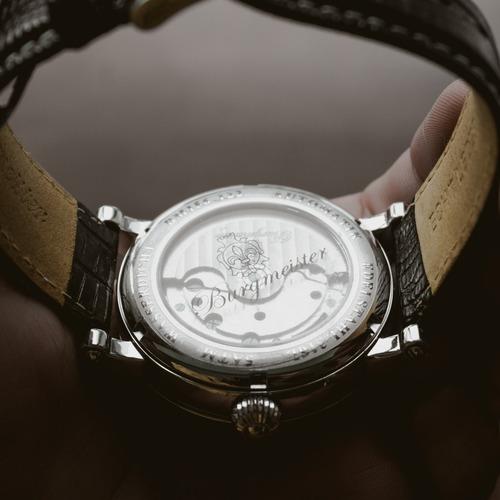 reloj burgmeister p/ caballero alicante automatico bm156-122