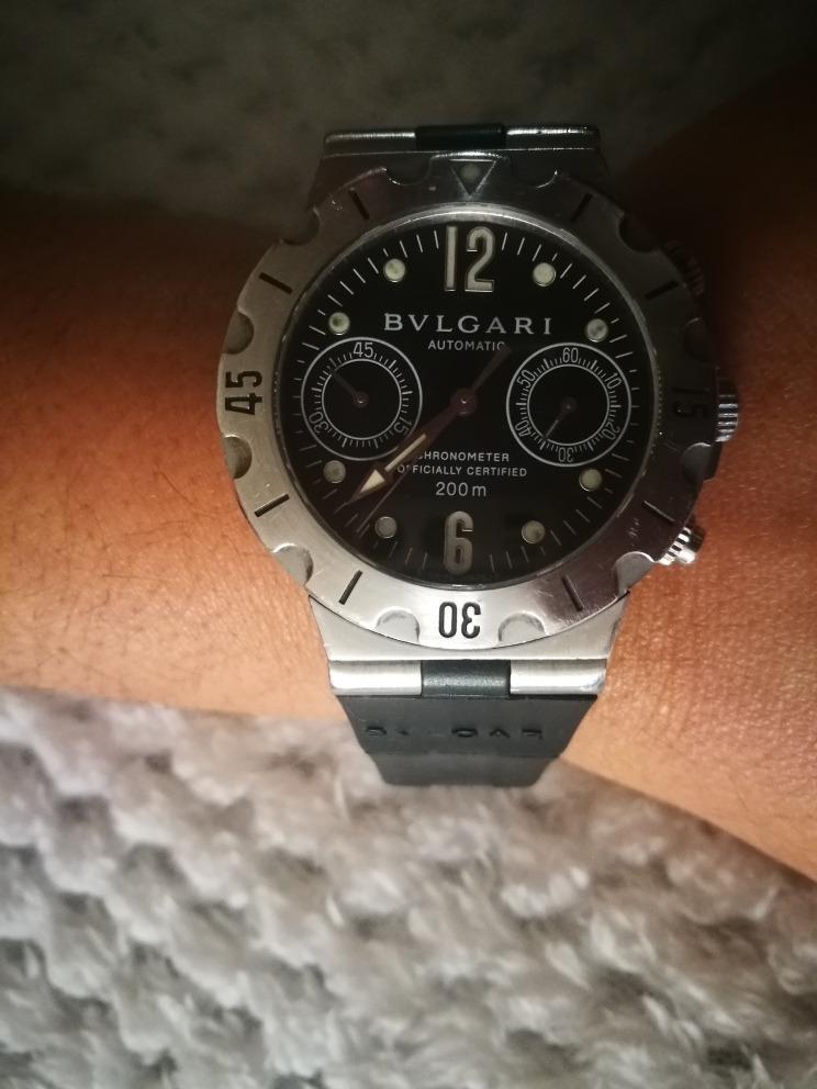 bb9b40b79b63 Reloj Bvlgari Buceo Automatico Cronómetro Cronografo -   2.500.000 ...