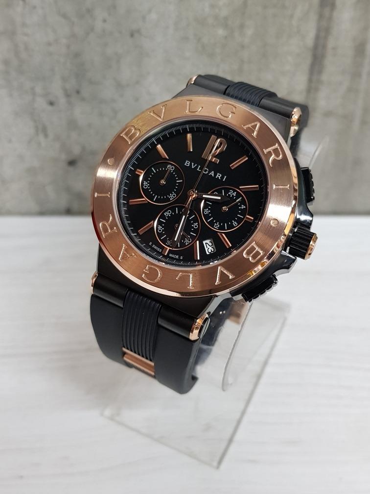 3428560647a Reloj Bvlgari Diagono Pavonado (fotos Reales) -   3