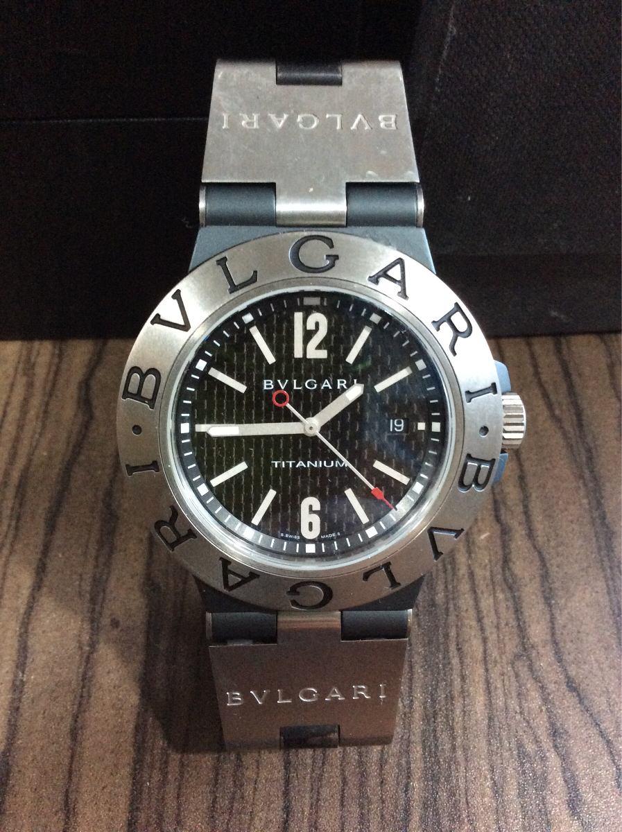 5eb2f2c0a65 reloj bvlgari titanium 44mm impecable. Cargando zoom.