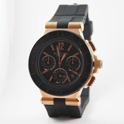 reloj bvlgri black gold edición especial