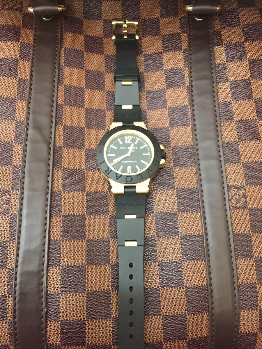 428af7d00b22 Reloj Bvulgari D24884 Aluminium 100% Nuevo Envio Grtais -   1