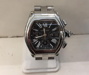 46ba78657cca Reloj Caballero Cartier Mod Roadster Caratula Negra
