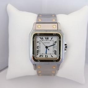 Reloj Caballero Cartier Santos Galbée Original