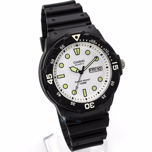 reloj caballero casio mrw200 caucho -envío gratis - cfmx -