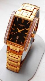 351feb4ee24c Reloj Elgin De Bolsa De Oro Con Pintura Aleo en Mercado Libre México