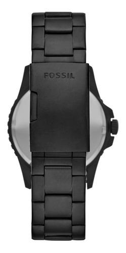 reloj caballero fb - 01 fossil fs5659 color negro