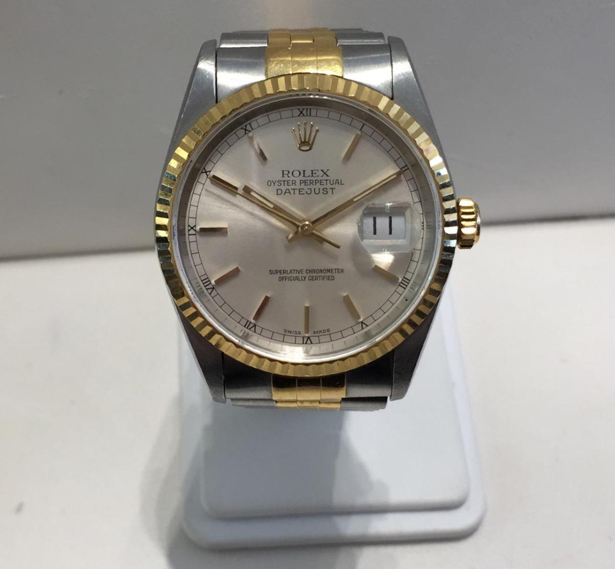 Datejust Caballero Modelo Rolex 36mm 3 Reloj Tamaño Calibre N0wPO8nkX