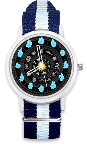 reloj caballeros del zodiaco saint seiya nato+ caja regalo