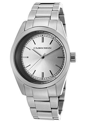 reloj cabochon wcab687 plateado