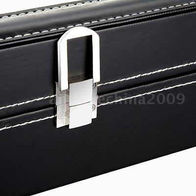 reloj caja joyas pantalla almacenamiento organizador caso