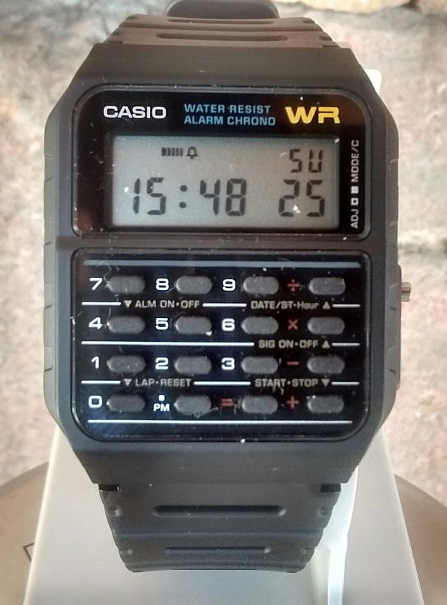 Reloj Calculadora Casio Ca53w Retro Años 80