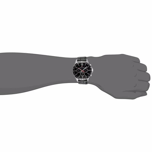 reloj calendario tommy hilfiger 1791117 correa cuero acero