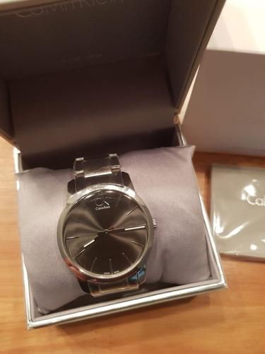 reloj calvin klein city k2g21161 entrega inmediata