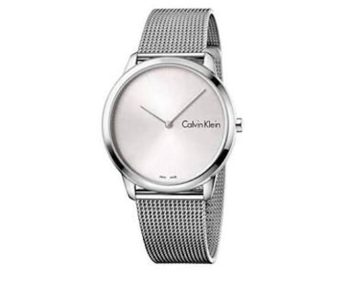501d41f5e581 Reloj Calvin Klein Correa De Plata
