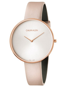 a8c9f605a8ea Reloj Calvin Klein Para Mujer En Rosa - Reloj de Pulsera en Mercado Libre  México