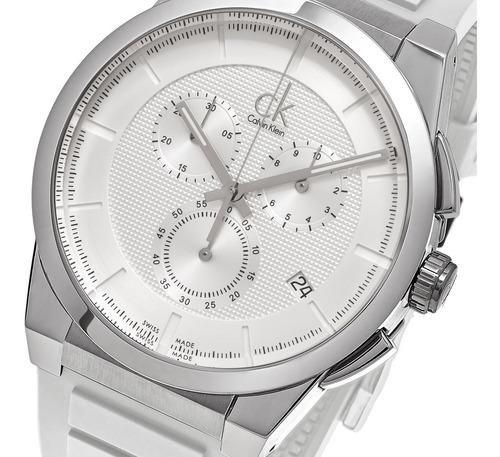 reloj calvin klein hombre k2s371l6 - swiss made - zafiro