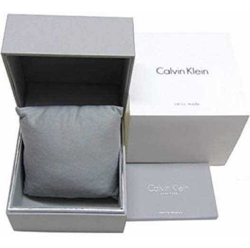 reloj calvin klein hombre swiss made minimal silver k3m211y6