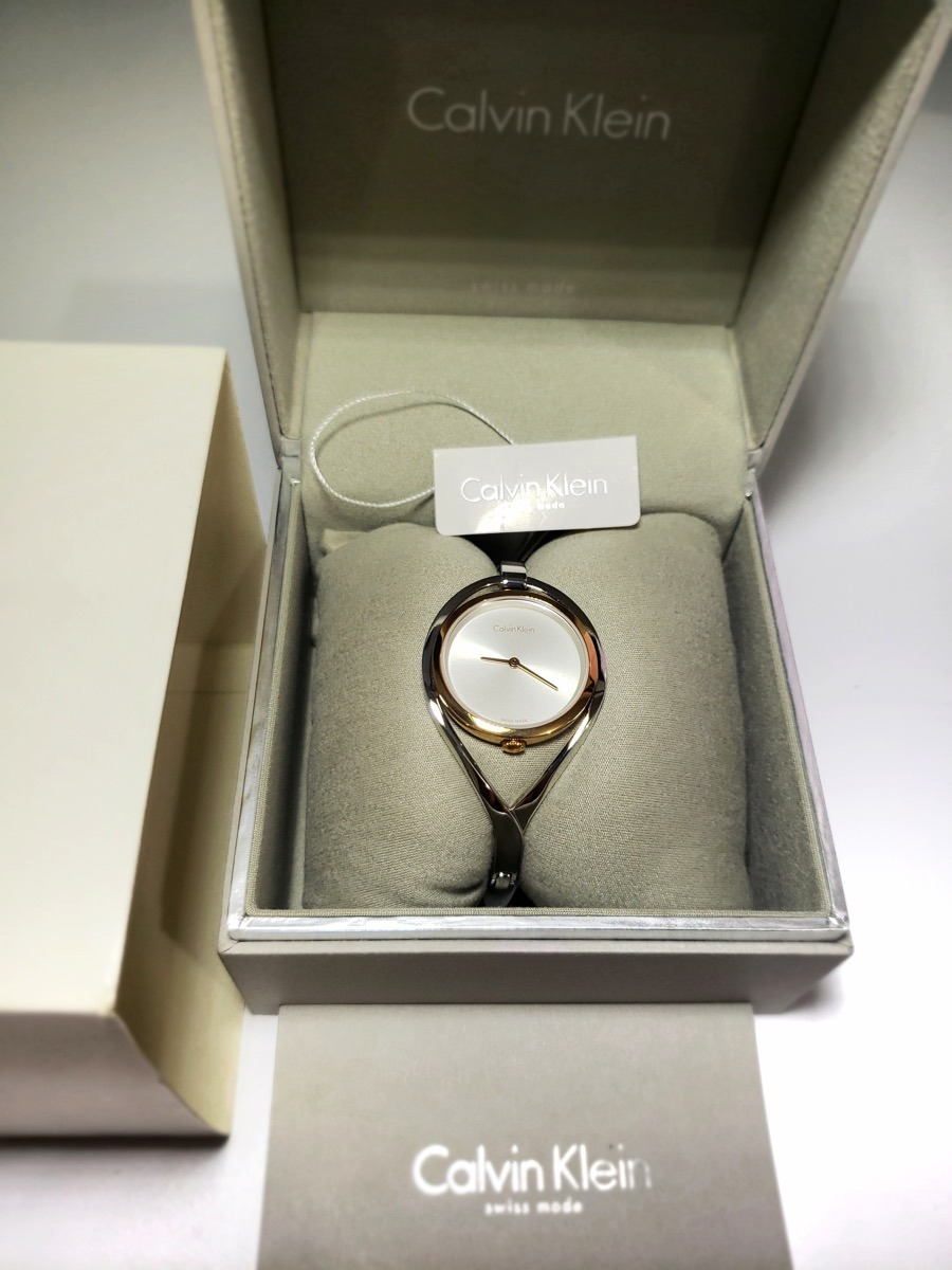 Light Dorado Dama Plata Calvin Klein Reloj K6l2mb16 JFlK1c