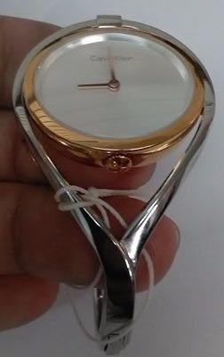 Klein Original Reloj K6l2mb16 Light Plateado Calvin Dama PnkO8wX0