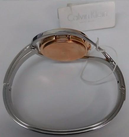 Para Plata Mujer Calvin Light Rosa Reloj Oro K6l2mb16 Klein CQroEWedBx