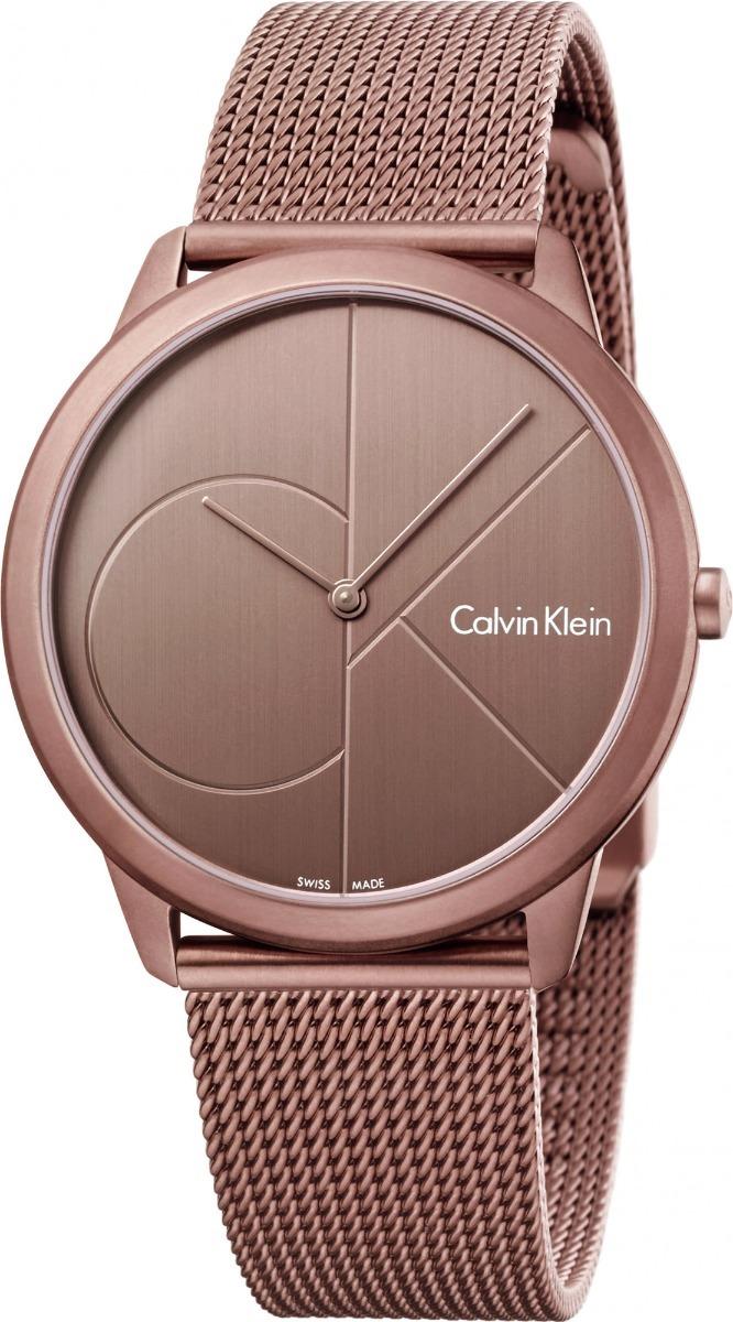 8b2b0fa24a4e Reloj Calvin Klein Minimal K3m11tfk Unisex