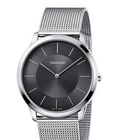 Reloj Klein K3m21124 100 Minimal Phombre original Calvin 5Rj34LA