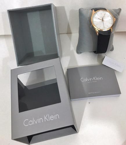 reloj calvin klein original piel nuevo con estuche tamb kors