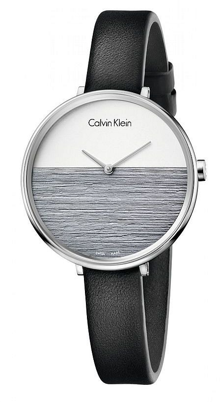 De Calvin Con Correa Reloj Klein Mujer Cuero Para K7a231c3 mNnw80
