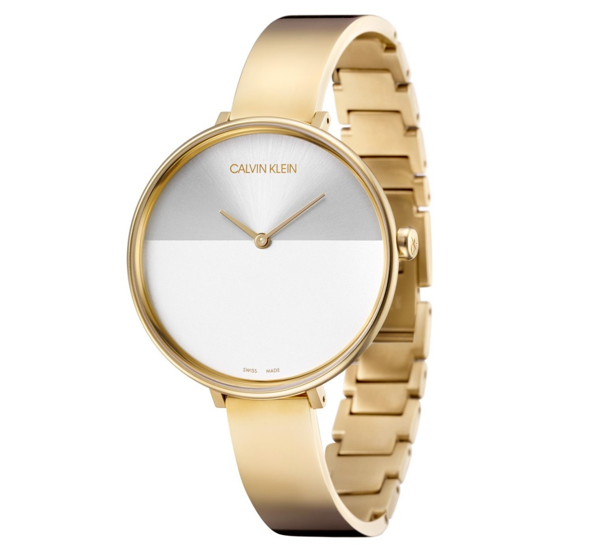 Reloj Calvin Klein De Doradoblanco Rise Dama K7a23546 Acero 5ALRj4