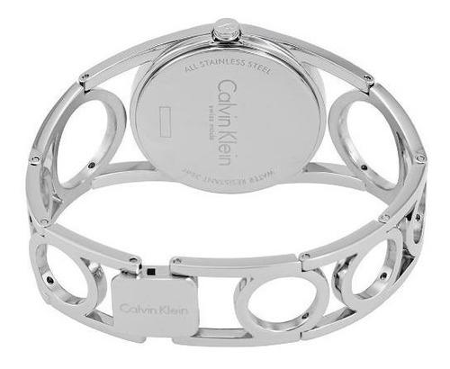 reloj calvin klein round k5u2m146 mujer | envío gratis