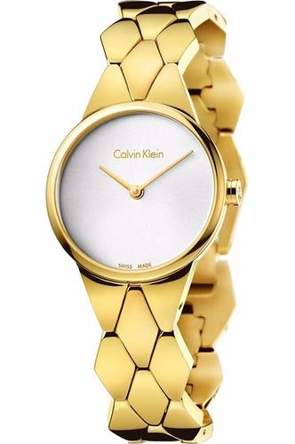 reloj calvin klein snake k6e23546 mujer   envío gratis