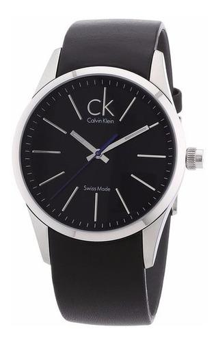 reloj calvin klein swiss hombre acero garantia oficial 24 m