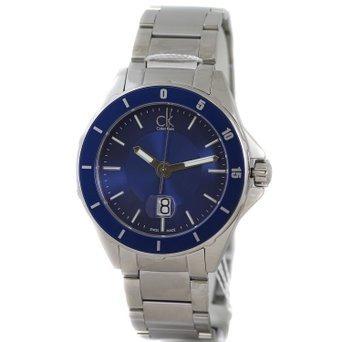 reloj calvin klein wck592 plateado