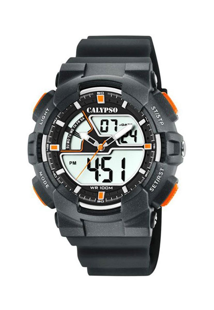 894cecd46eda Características. Marca Calypso  Modelo Reloj K5771 4 Negro Calypso Hombre  Digital For Man ...