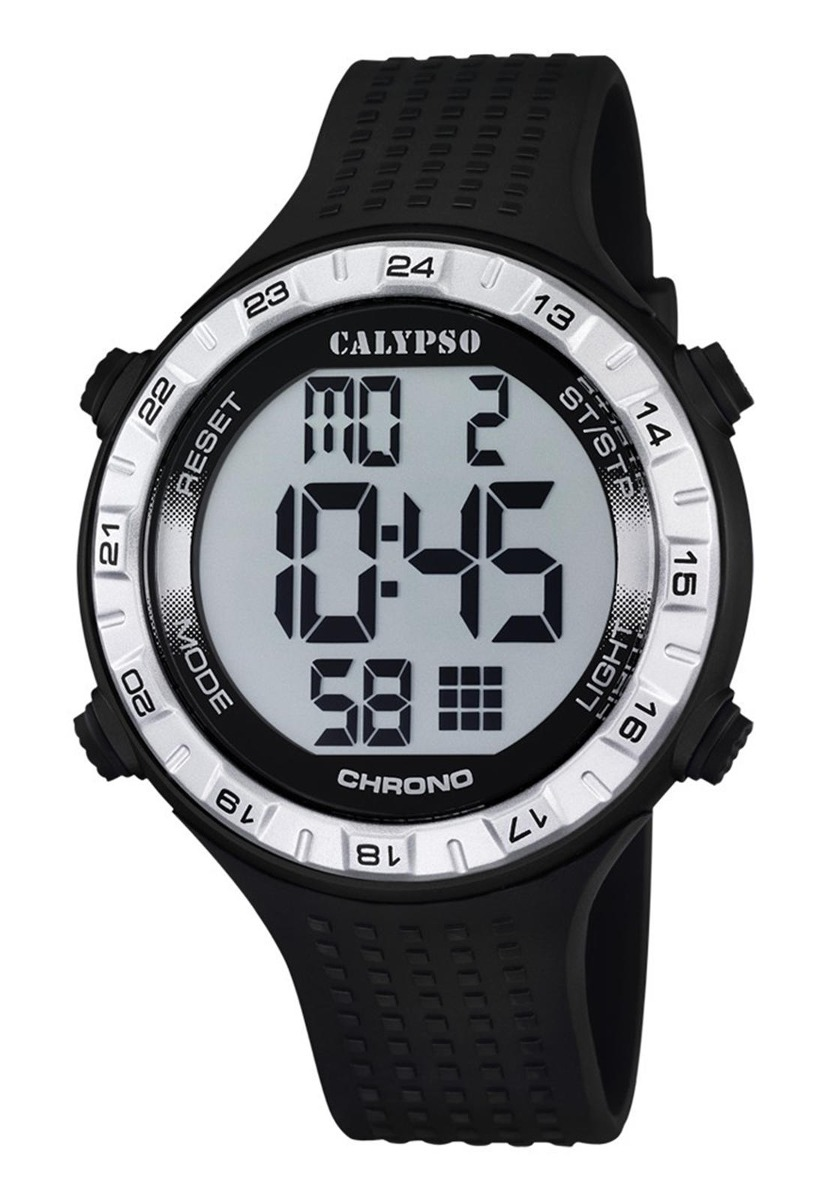 132a05a3c806 Características. Marca Calypso  Modelo Reloj K5663 1 Negro Calypso Hombre  Digital For Man ...