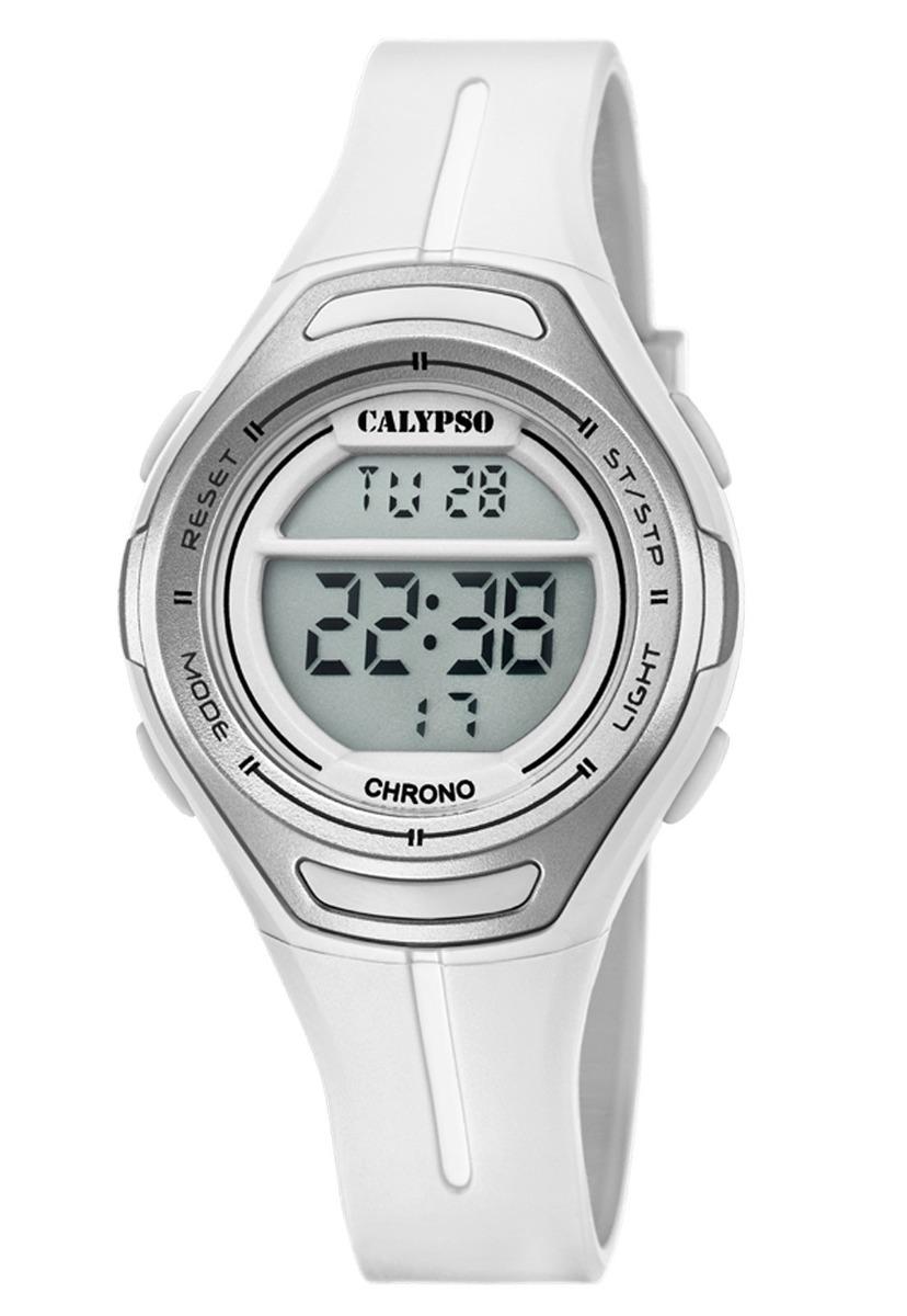 Reloj K5727 1 Blanco Calypso Mujer Digital Crush -   28.000 en ... 6fad281d160