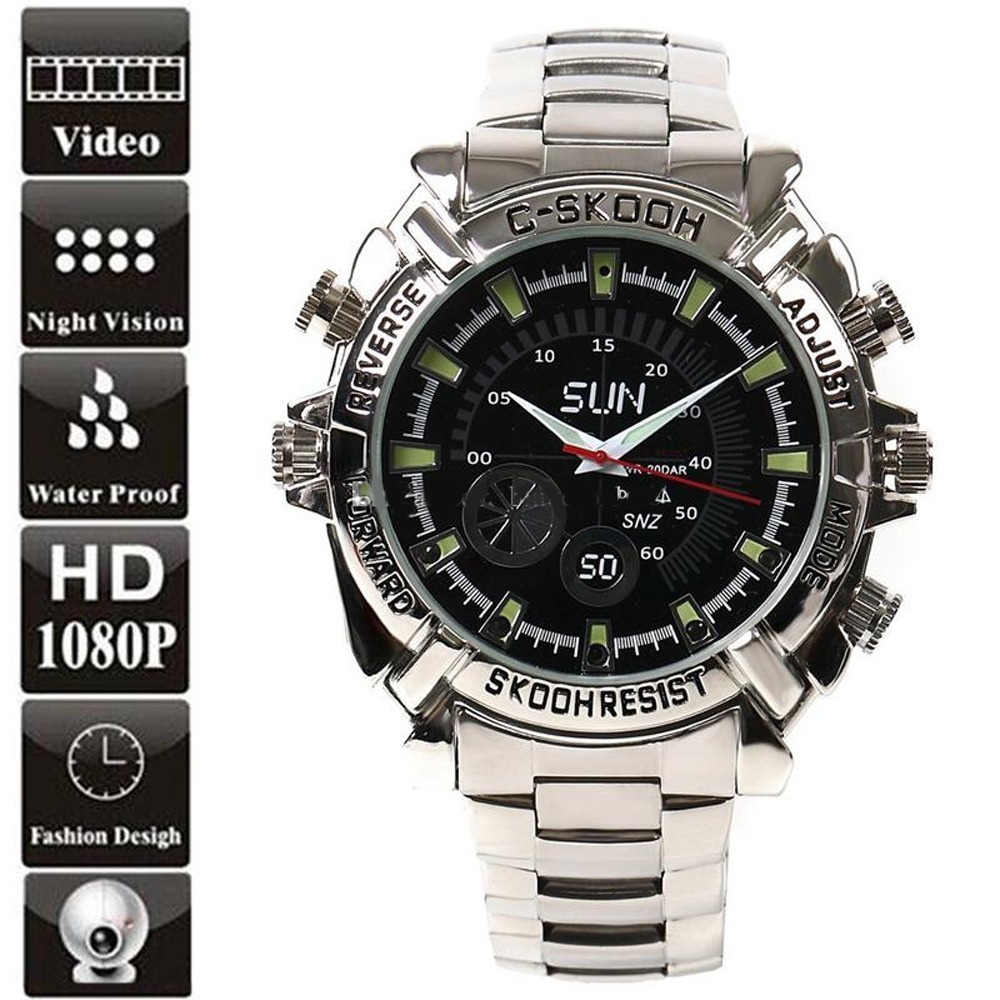 80276e4d4638 reloj camara espia oculta vision nocturna full hd 1080p mic. Cargando zoom.