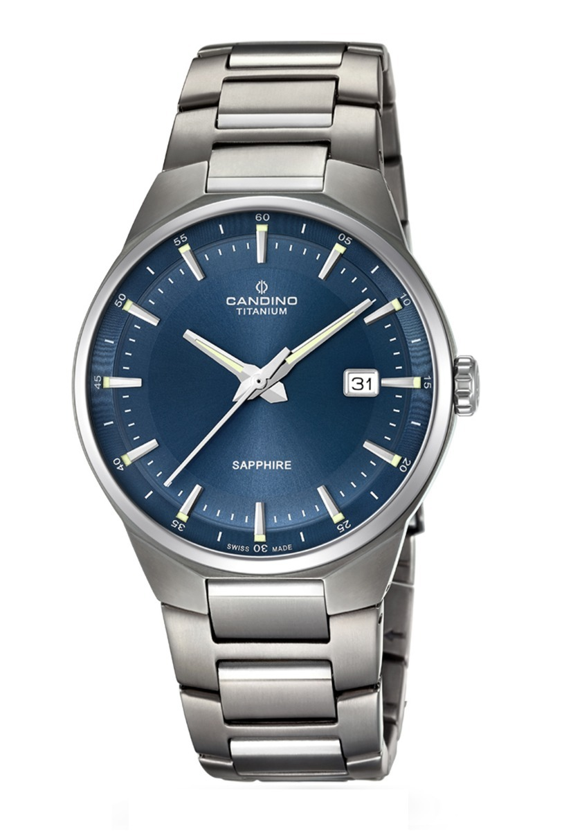 Reloj C4605 3 Plateado Candino Hombre Titanium -   277.000 en ... 3c55022e343