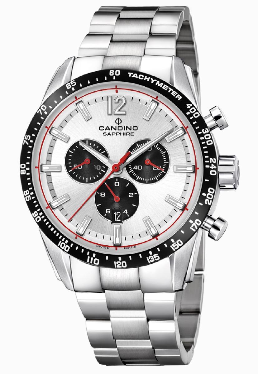 e8df1a36268d Características. Marca Candino  Modelo Reloj C4682 1 Plateado Candino  Hombre Classic Tradition ...