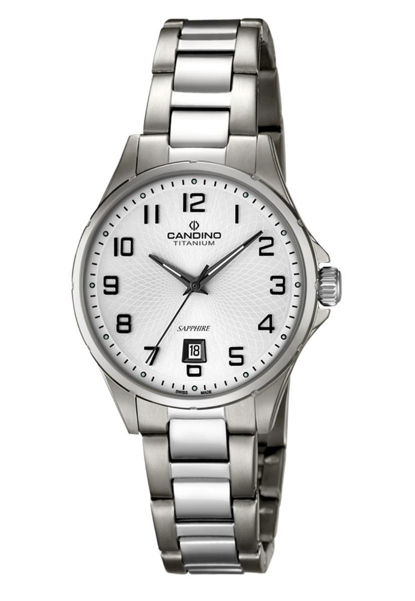 Reloj C4608 1 Plateado Candino Mujer Titanium -   234.000 en Mercado ... 685b3e40e53