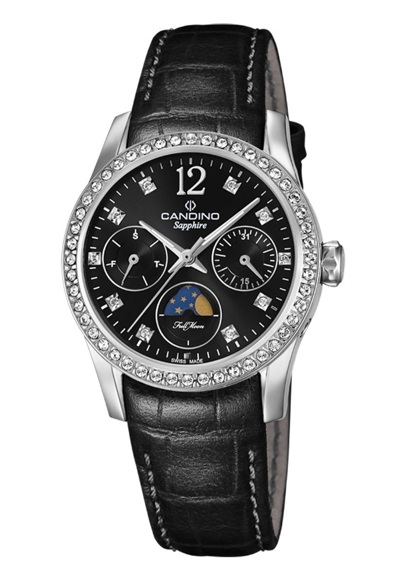 623c413d5ff5 Características. Marca Candino  Modelo Reloj C4684 3 Negro Candino Mujer Elegance  D-Light ...