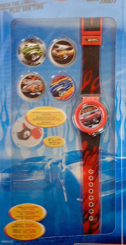 reloj caras intercambiables hotweels