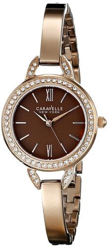 reloj caravelle 44l134 femenino
