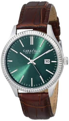reloj caravelle analog marron